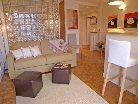 Book 1 bedroom paris studio apartment with balcony near - 1 bedroom or studio apartments for rent ...