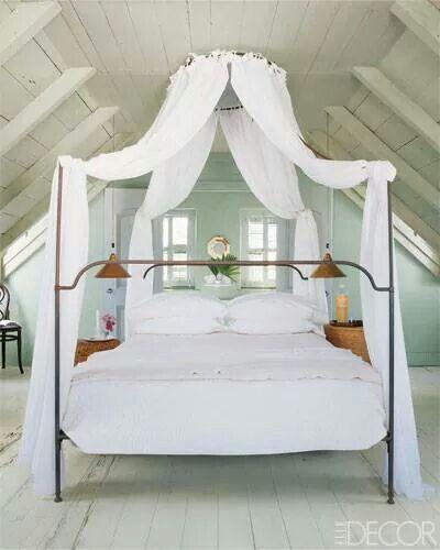 Bedroom in the Bahamas