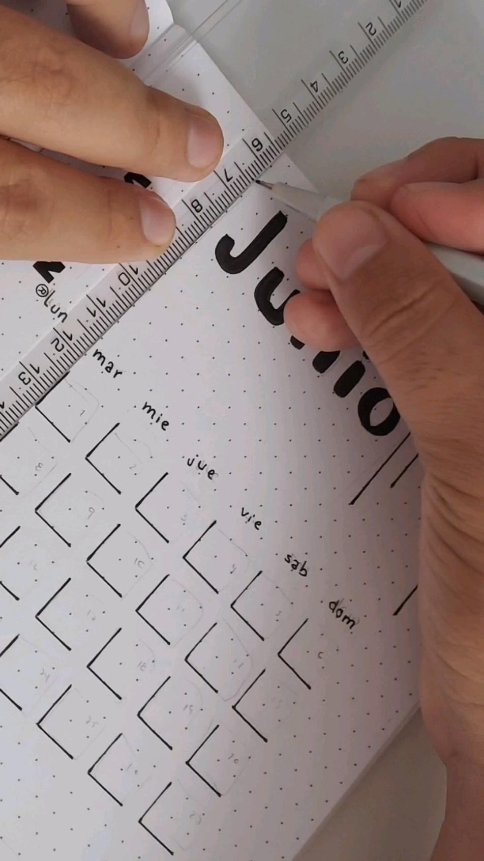 Bullet Journal mes de Junio �