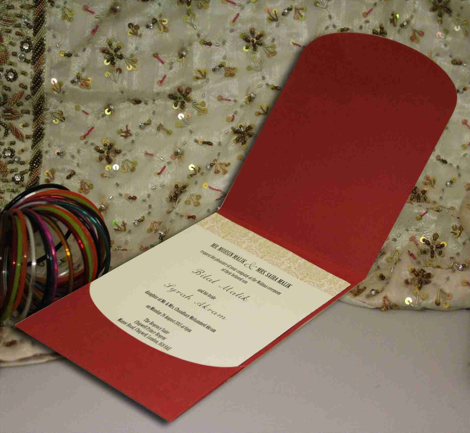 New Post islamic wedding invitation card design | Weddings ...