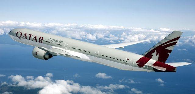 الخطوط القطرية أول شركة طيران في العالم تستجيب وتطبق قرار الاتحاد الدولي للنقل الجوي أياتا رقم 753 Qatar Airways Qatar Boeing 777