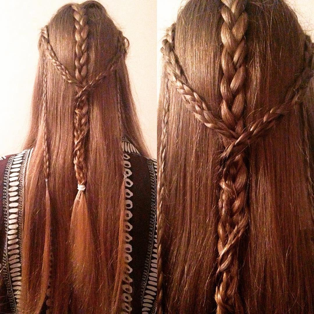 Jodie Jackson On Instagram Fully Fledged Elf Now Elf Elfy Elvish Elven Lotr Thehobbit Jrrtolkien Bra Elvish Hairstyles Elven Hairstyles Hair Styles