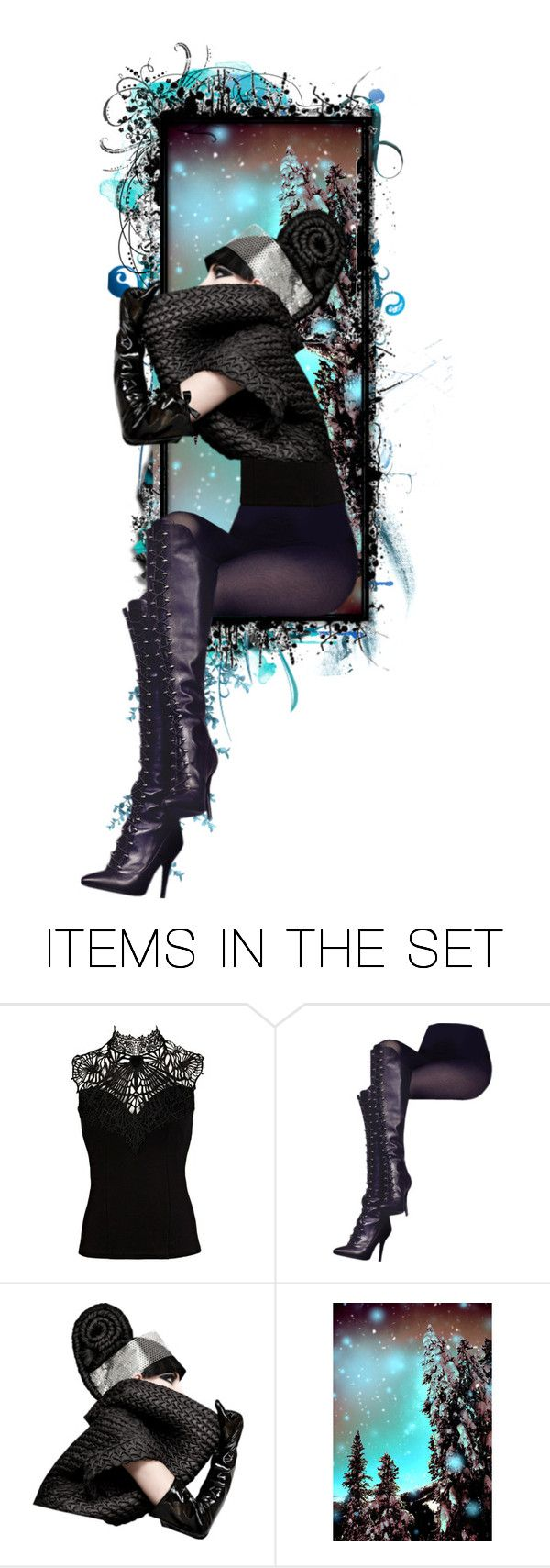 """""""Star Gazing"""" by lucygray ❤ liked on Polyvore featuring art"""