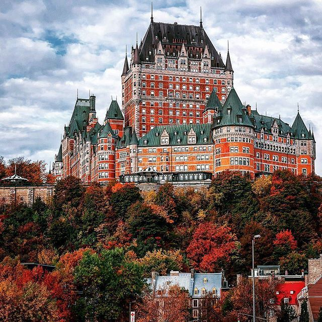 Top Dream Destination By Manucoveney Topdreamdestinations Look At The Featured Gallery To Share The Communityfir Frontenac Castle Amazing Architecture