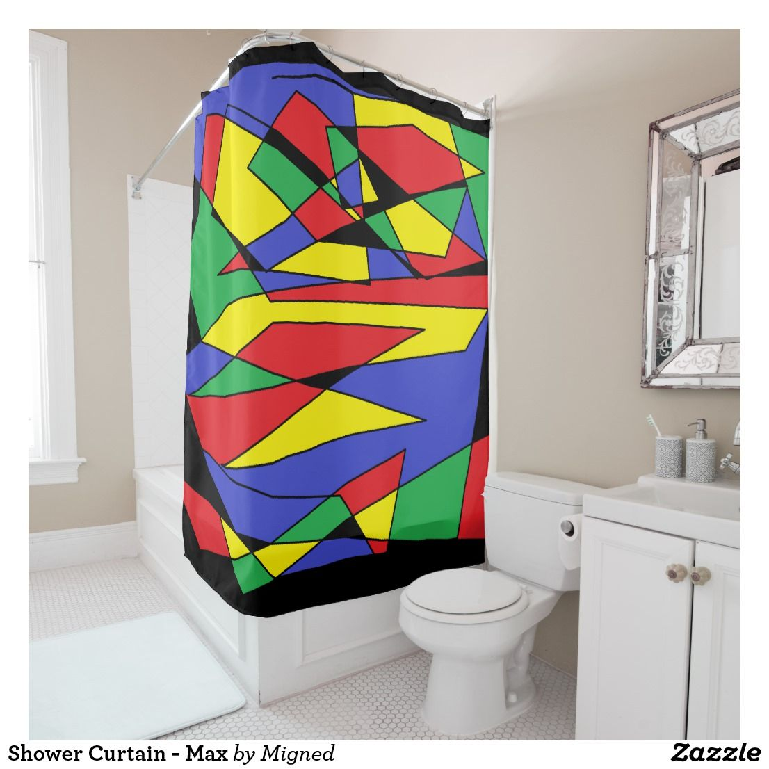 Shower Curtain Max Zazzle Com Curtains Store Design