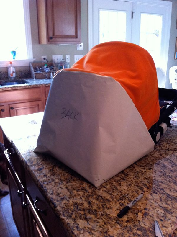 cf727a05f How to sew a new canopy for your Bugaboo stroller