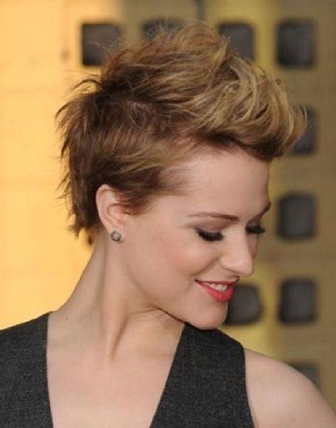 snyggt kort hår