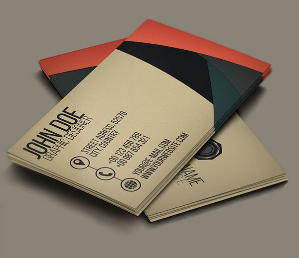 Business card creative pesquisa google pinterest in this tutorial well see how to design a neat and simple business card template using adobe photoshop that will fit great for your business company reheart Gallery