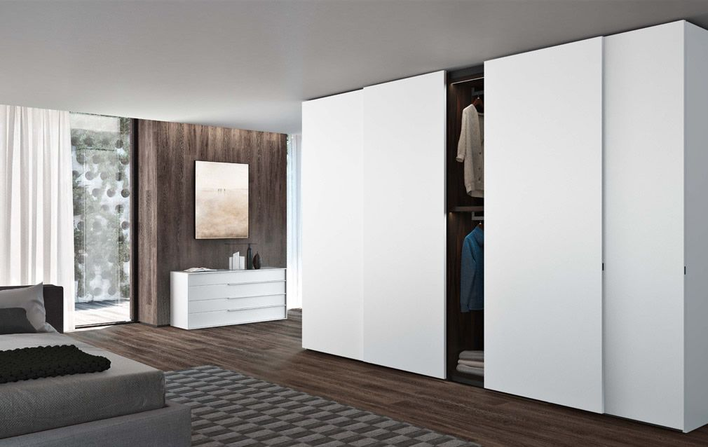 Modular Robe System Incorporating A Wide Range Of Finishes And Door  Options. Customed Made Piece Of Italian Furniture Especially Designed To  Fit All Types ... Good Ideas