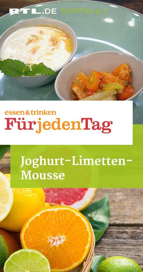 Joghurt-Limetten-Mousse