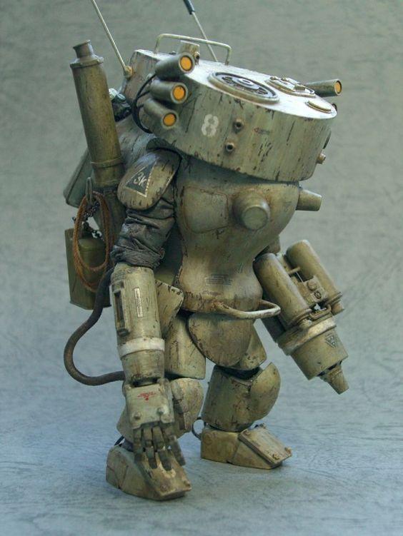The Engine Room Design: Steampunk Robots