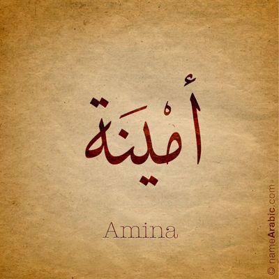 ameena fatima name