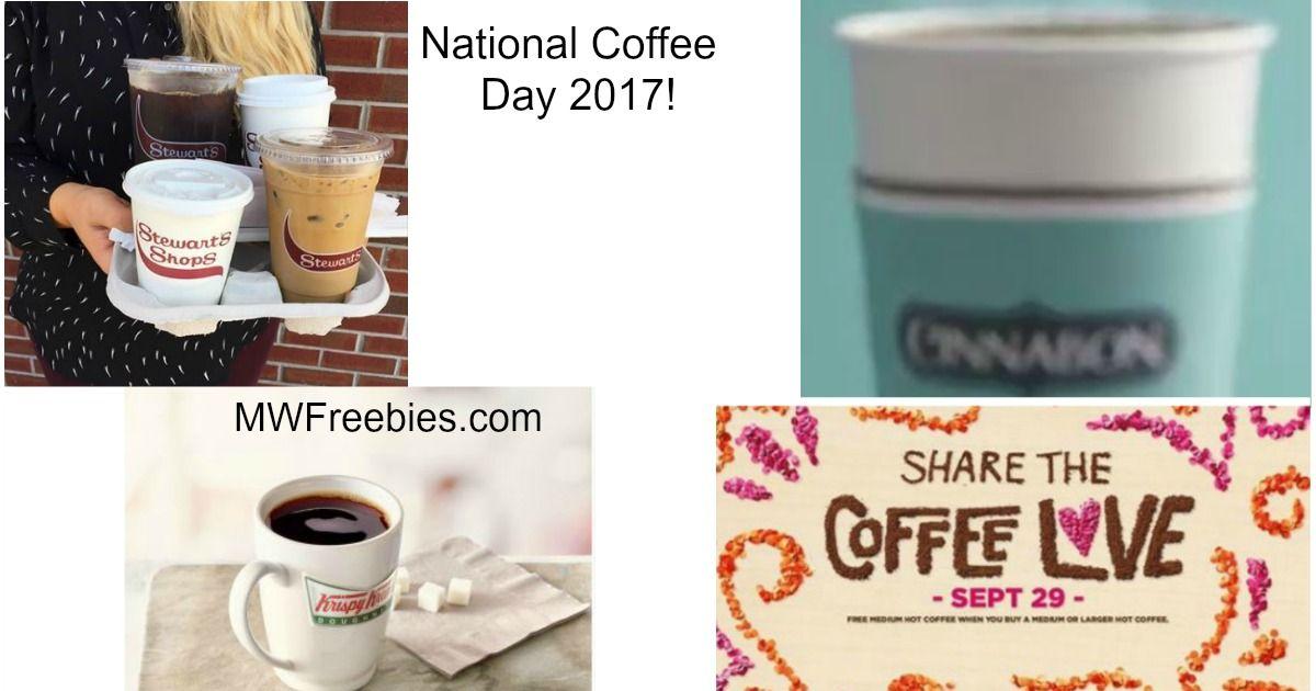 Mwfreebies freebies deals free coffee national