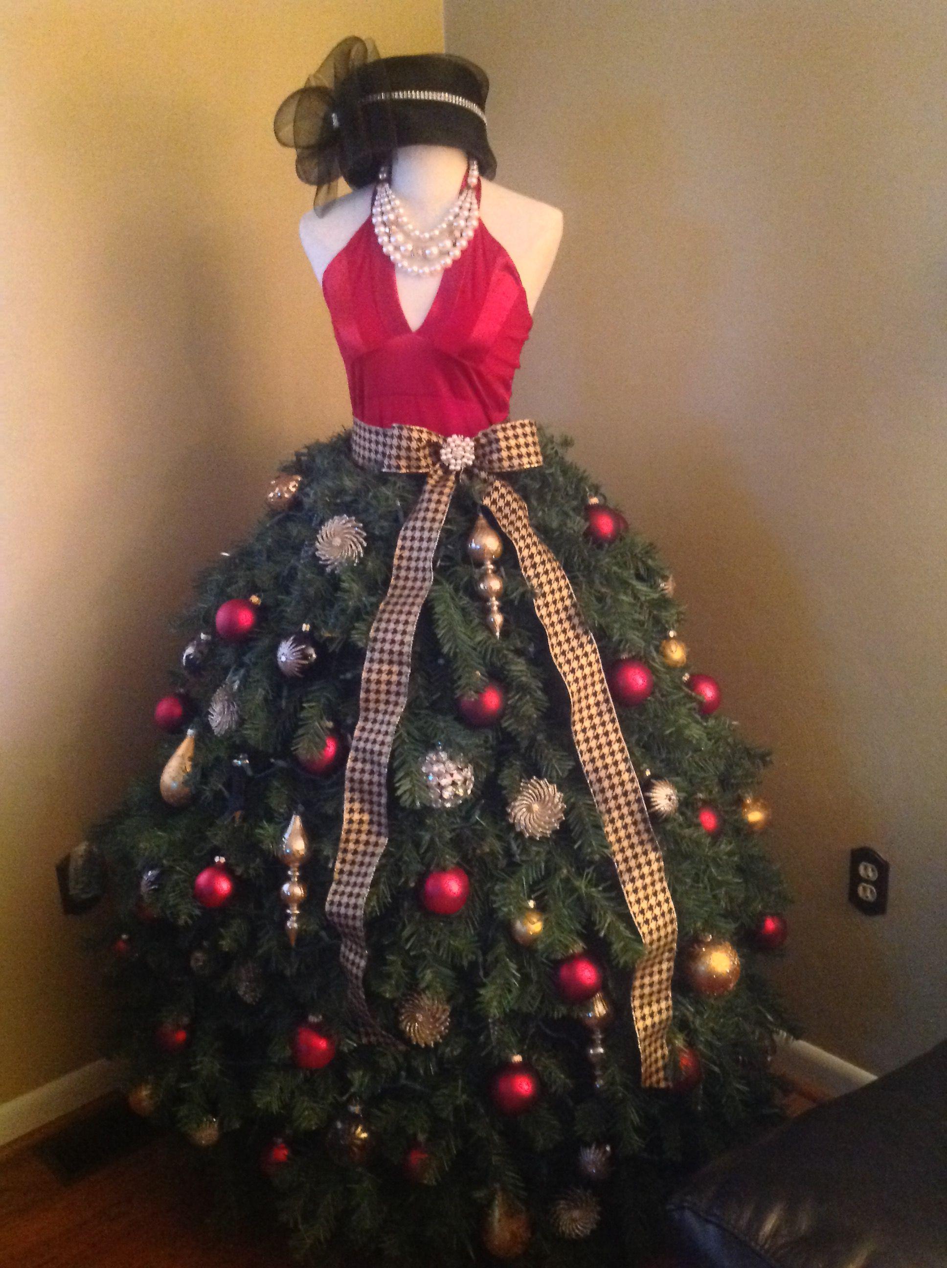 Ebook Tutorial Dress Form Christmas Tree Grand Diva Style Christmas Tree Dress Dress Form Christmas Tree Mannequin Christmas Tree