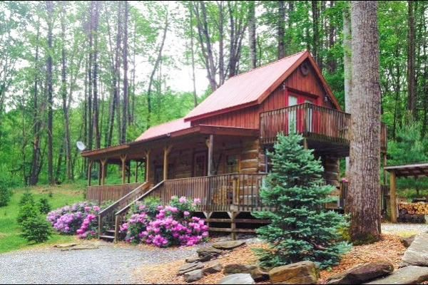 Bear Creek Log Cabins In Hot Springs Nc Cabin Secluded