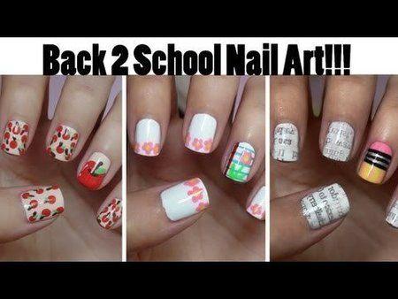 Nail Art Designs Back To School