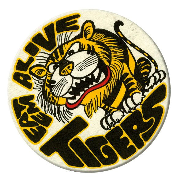 Eat Em Alive Badge The Mighty Tigers Pinterest