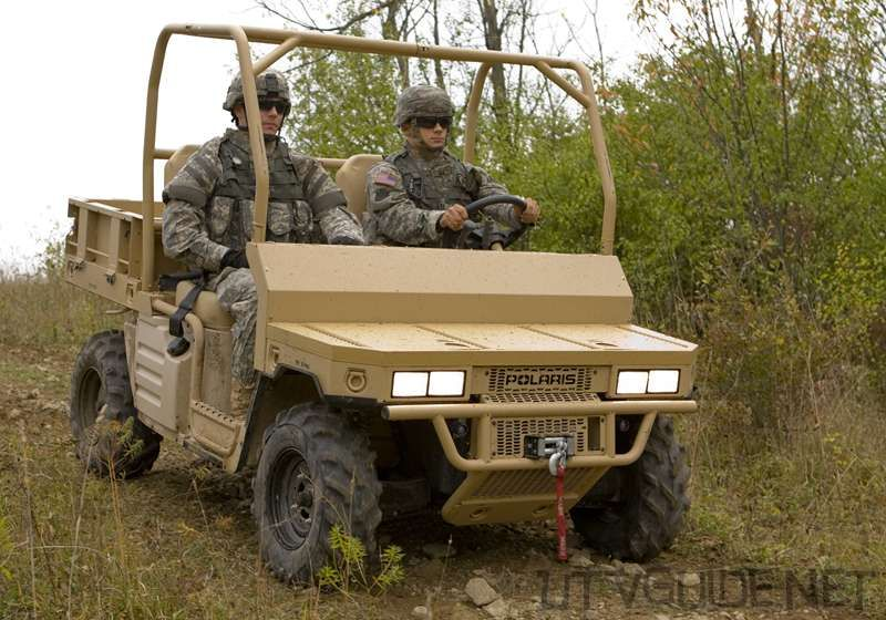 Military Personnel Use The Polaris Mvrs800 Rzr
