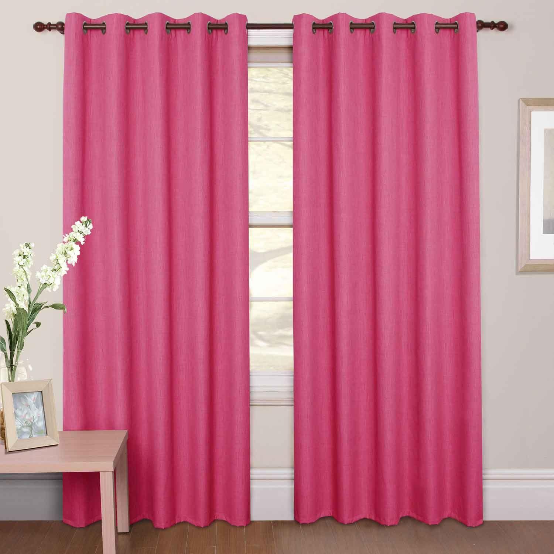 Light pink curtains - Blackout Curtain Pink