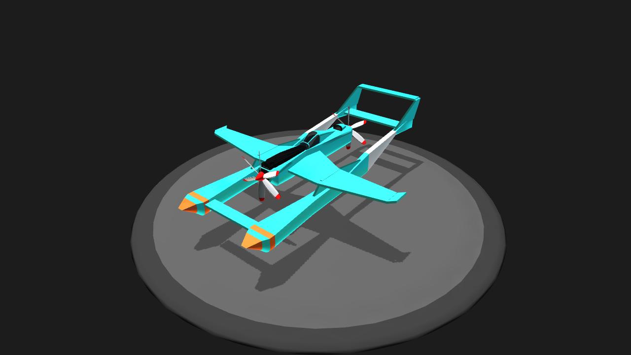 SimplePlanes | Pylon Racer
