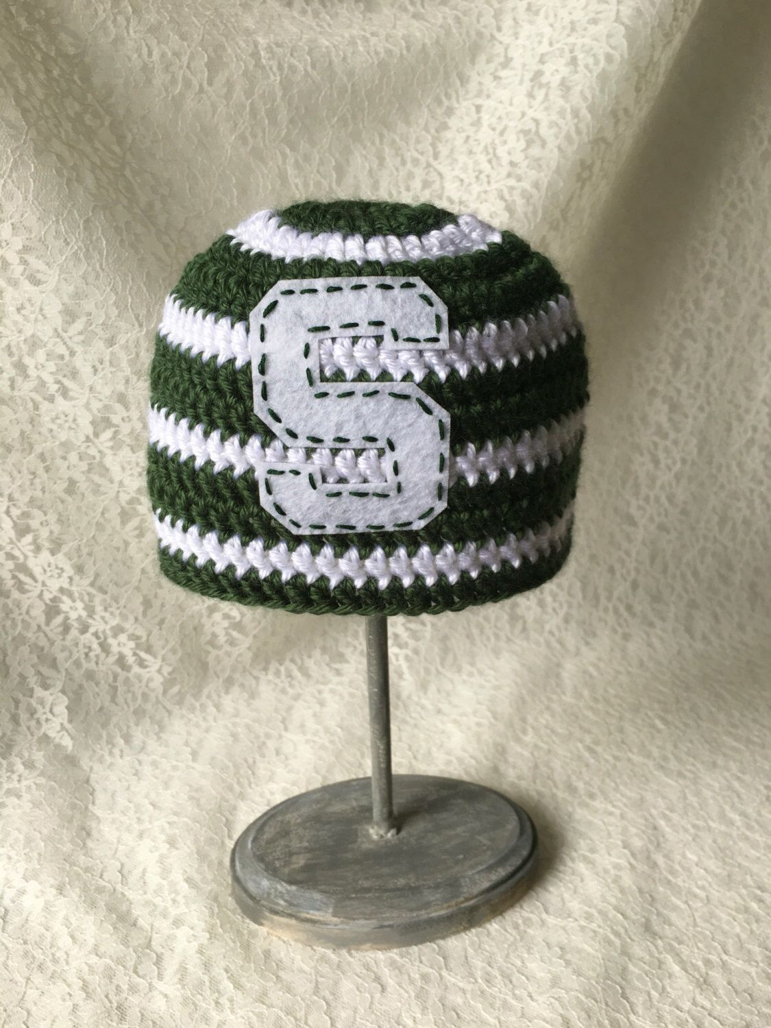 c883cff88d5 ... coupon code for items similar to michigan state university hat newborn  sized beanie msu crochet hat