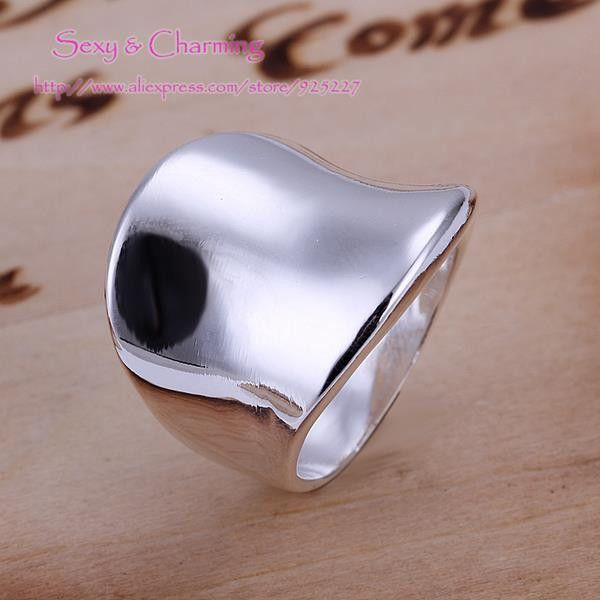 Click link to buy Size 8 R052 !  Pl... http://www.jeremiahjewelry.online/products/8-r052-free-shipping-silver-plated-ring-finger-rings-size-8-fashion-jewelry-welcome-mixed-wholesale?utm_campaign=social_autopilot&utm_source=pin&utm_medium=pin @JeremiahJewelry.Online
