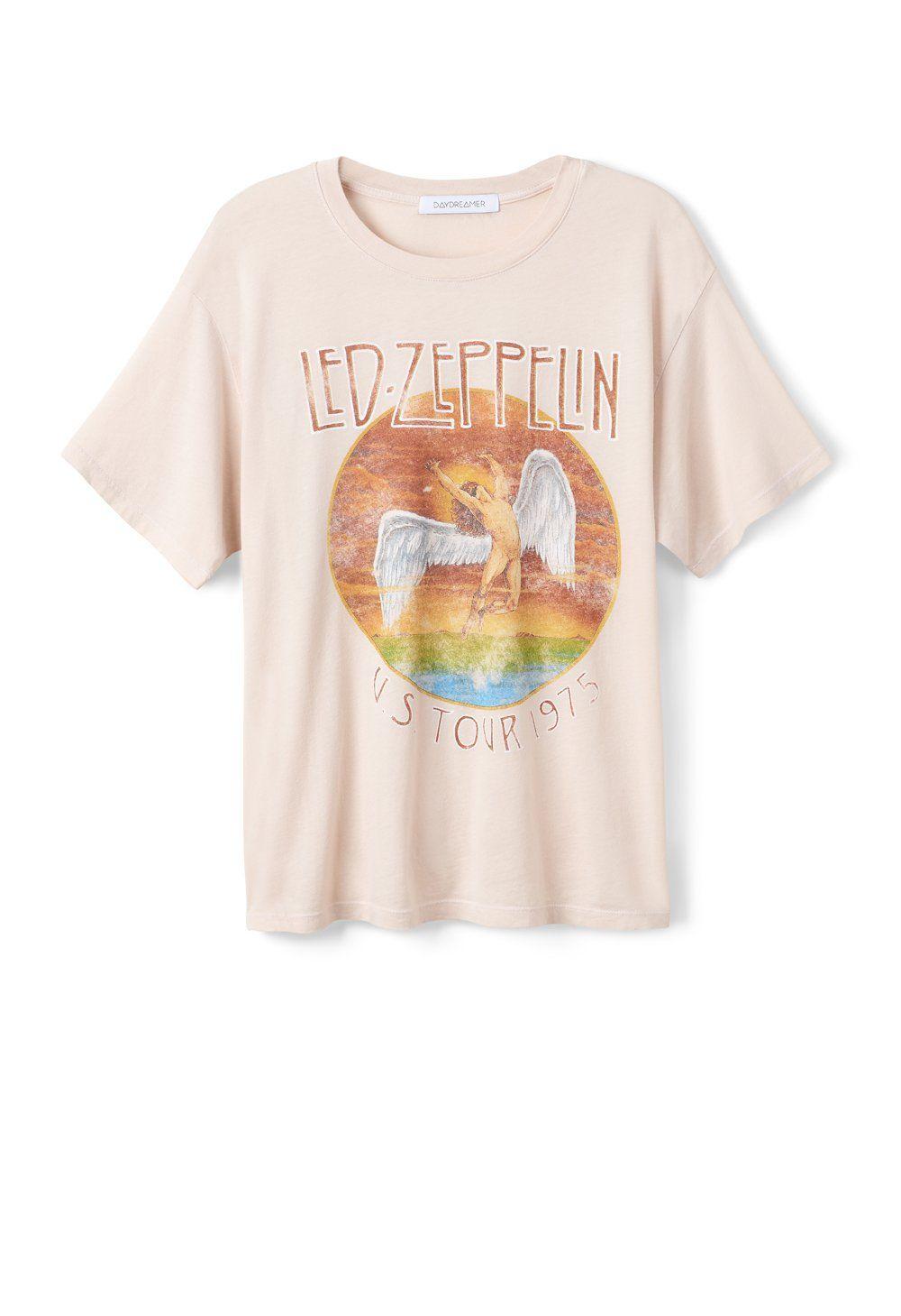 c0246faa9 Led Zeppelin Tour 1975 Boyfriend Tee Online Exclusive-SHORT  SLEEVE-DAYDREAMER-LA