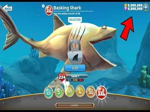 hungry shark evolution hack game guardian