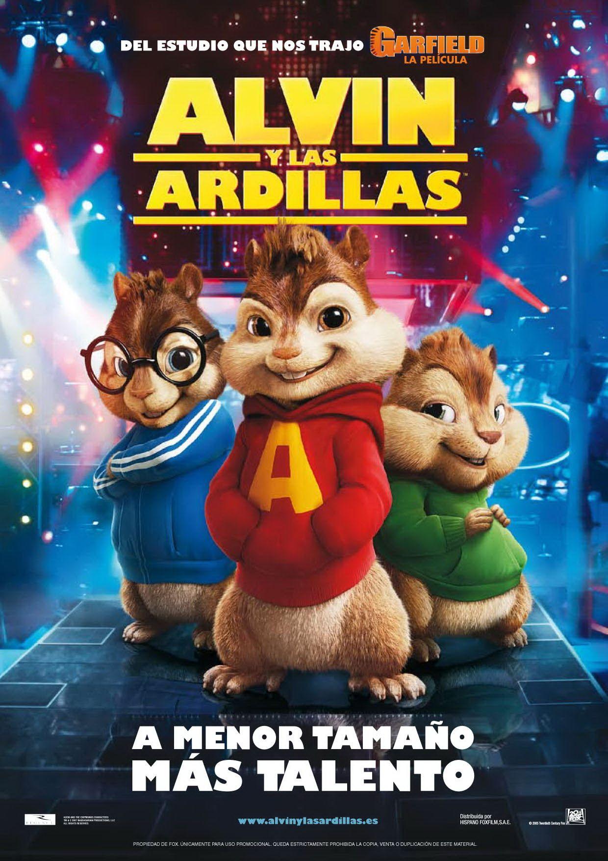Alvin Y Las Ardillas Chipmunks Movie And Chipmunks Movie