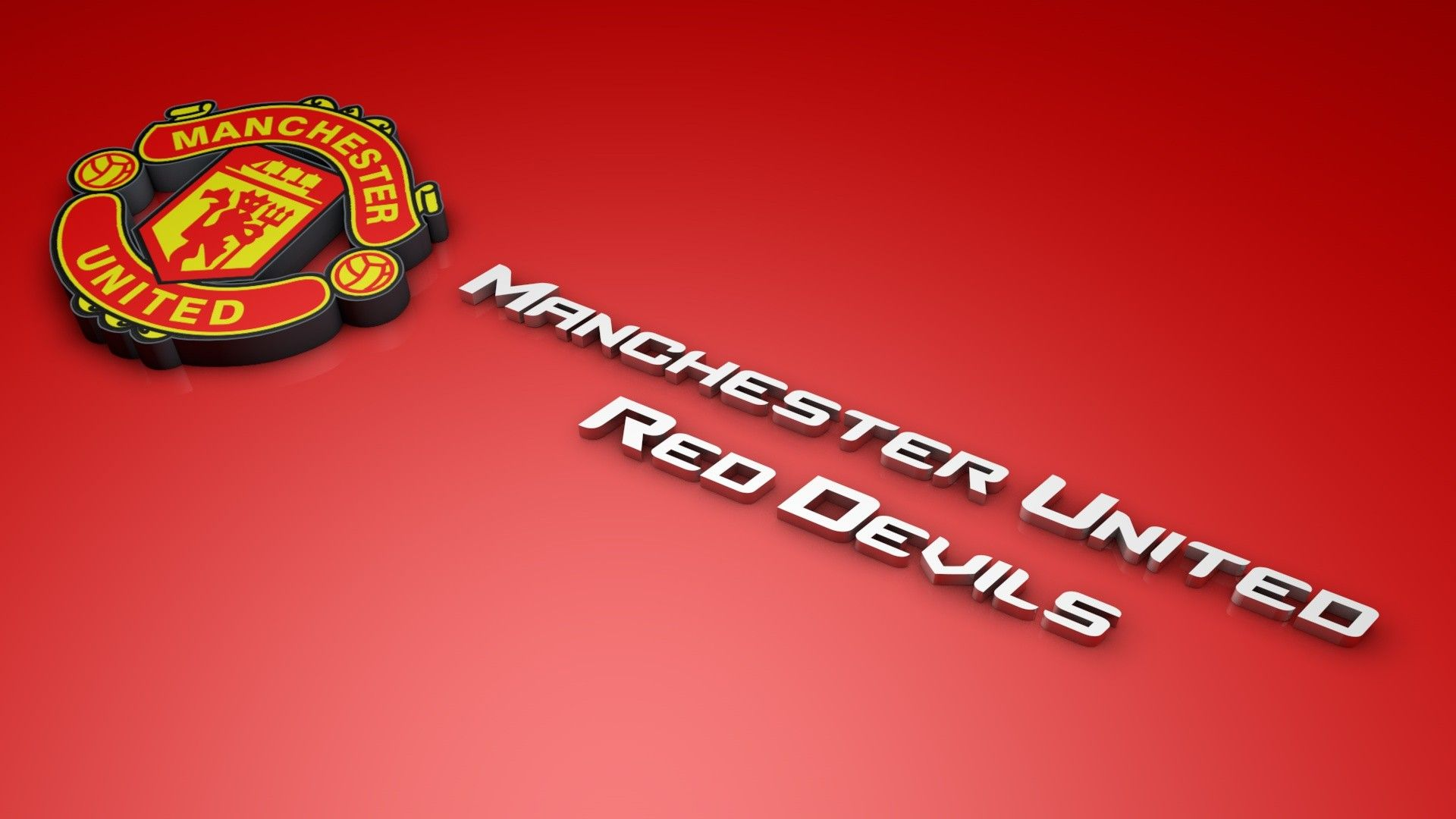 Manchester United Hd Wallpaper 3d 1920 1080 Gambar
