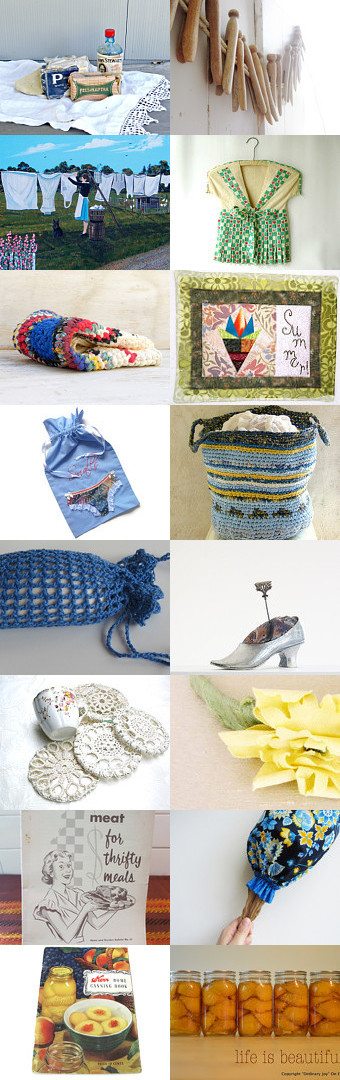 Mom Was A Frugal Housekeeper by Nancy on Etsy--Pinned with TreasuryPin.com