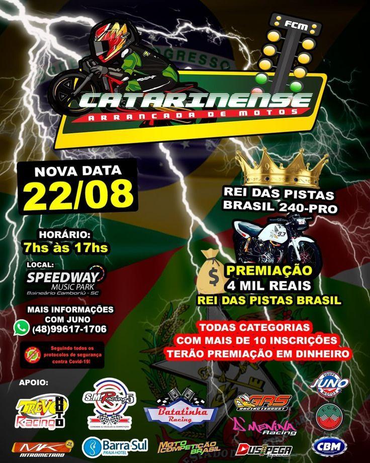 Campeonato Catarinense Arrancada de Motos em Balneário Camboriú - rk motors
