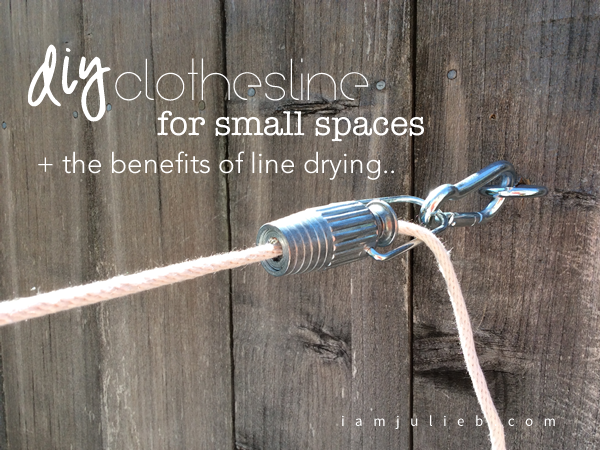 Diy Clothesline For Small Spaces Plants Laundry And