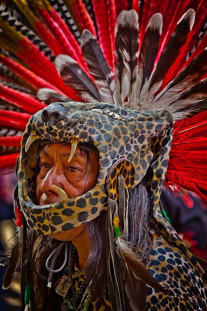 Jaguar Warrior - Mexica, Aztec