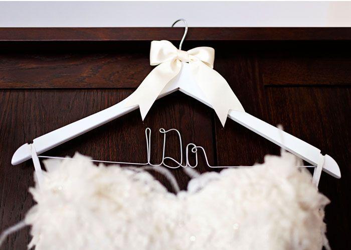 Wedding Dress Wire Hanger I Do