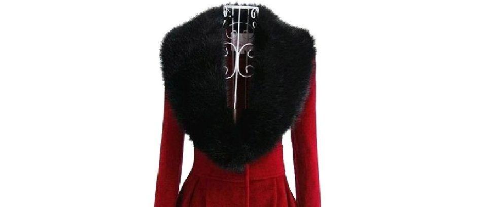 Faux fur scarves gift menagerie faux fur scarves fur