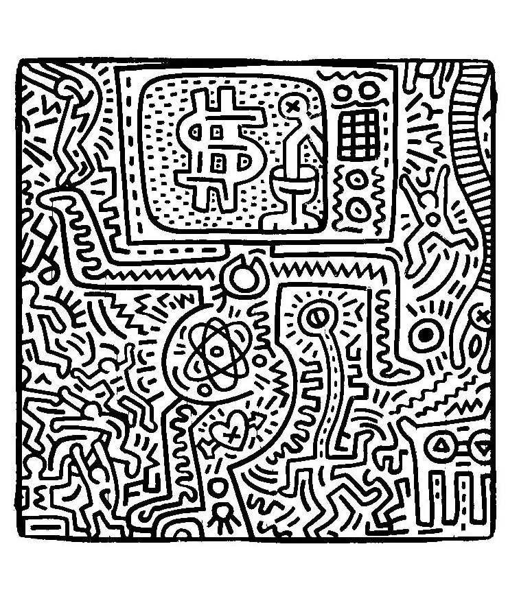 Keith haring 10 From the gallery : Art | Art Masterpieces ...