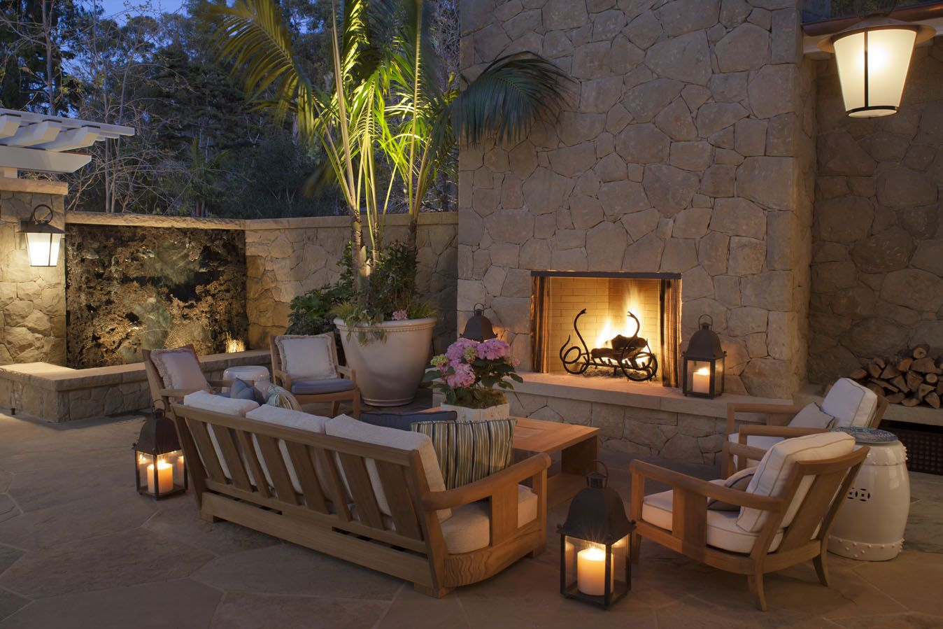 Santa Barbara Estate Patio Design by # ... on Living Spaces Patio Set id=59076