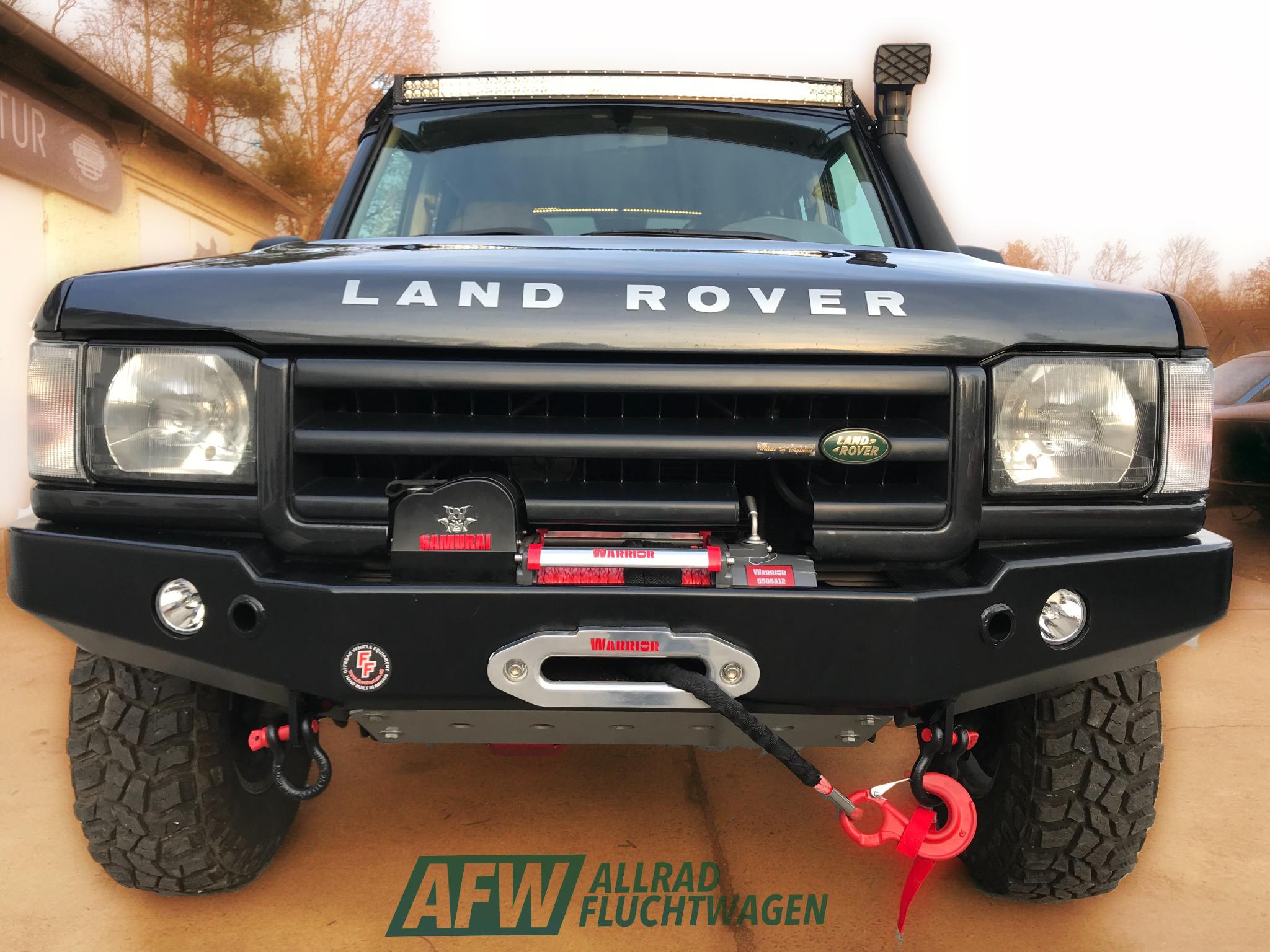 Discovery 2 Overlander Von Allradfluchtwagen Land Rover Land