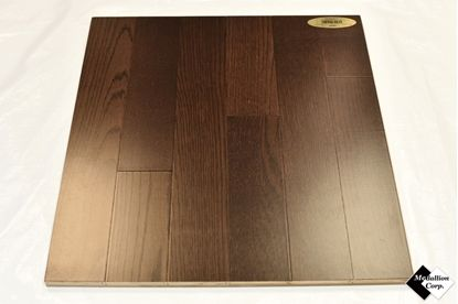 "3.7"" Engineered Smooth Oak Coffee Bean Hardwood Flooring"