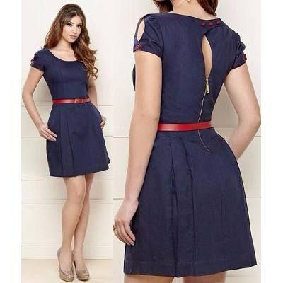 ecbf122ef Lindos Vestidos Casuales Para Damas Cortos - Bs. 145.500