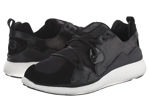 Womens Shoes adidas Y-3 by Yohji Yamamoto Femme Boost Lace Black/Black