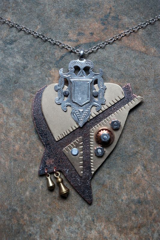 This heart rocks!  New From The Bench - The Captured Muse