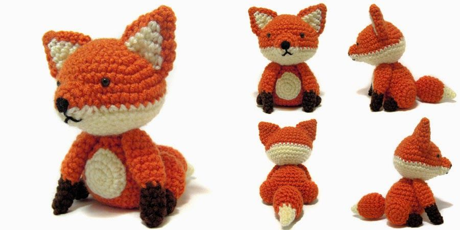 fox-lox for Genna | crochet!!!! | Pinterest | Croché, Ganchillo and ...