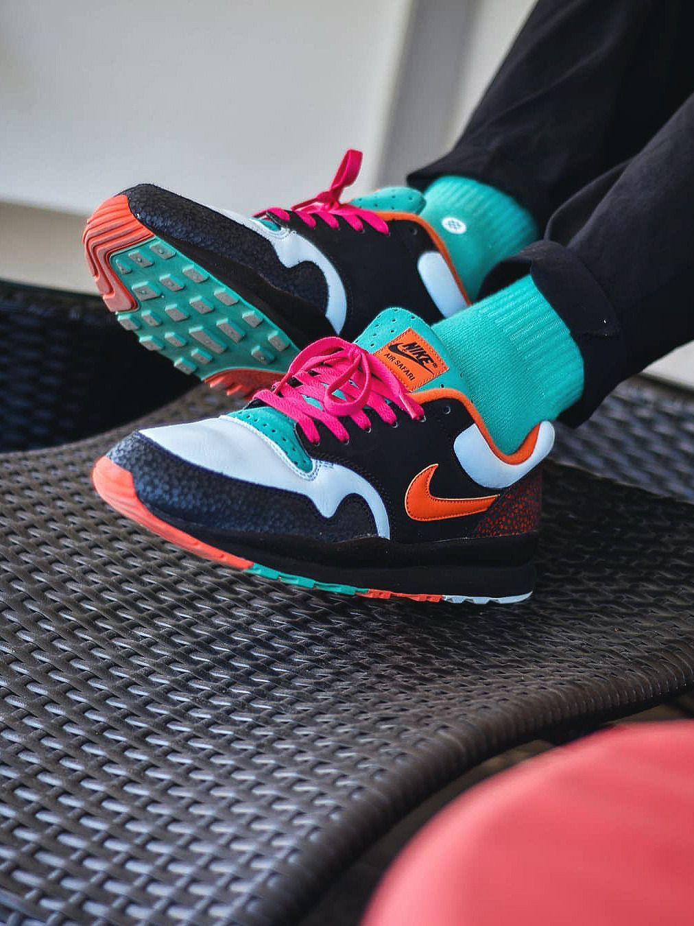 promo code f8834 14a5a Nike Air Safari SE - Black/Team Orange - 2018 (by ...