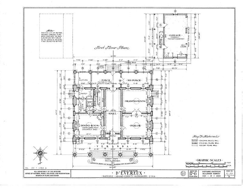 historic plantation house plans