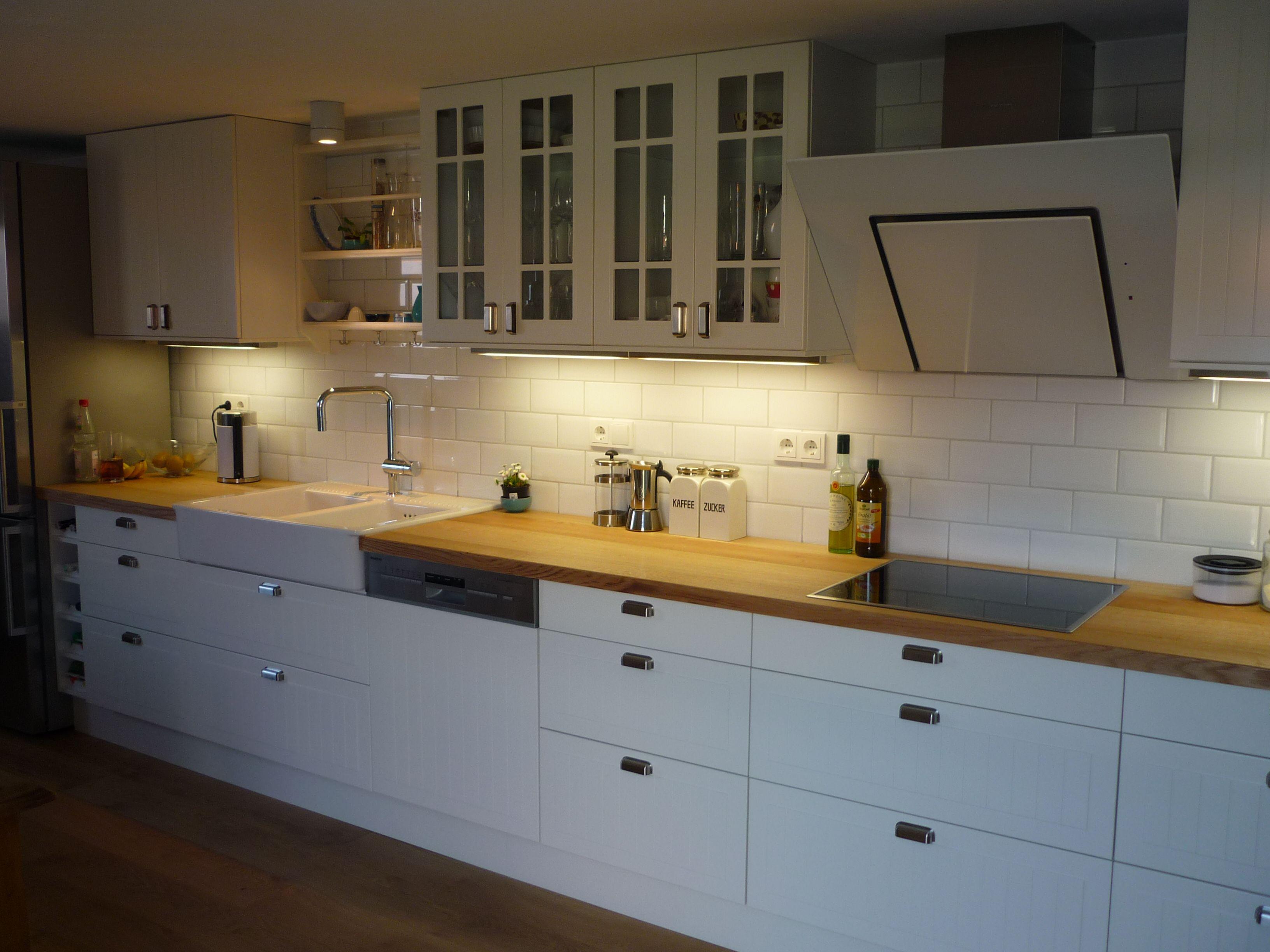 Ikea Küche mit Keramik waschbecken | Ikea küche, Küchen ...