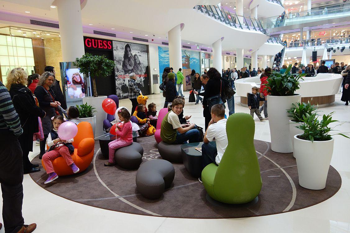 Basic Collection, Bulgaria Mall Sofia #design #interior #furniture #shopping #foodcourt #architecture #bulgaria #sofia #mall