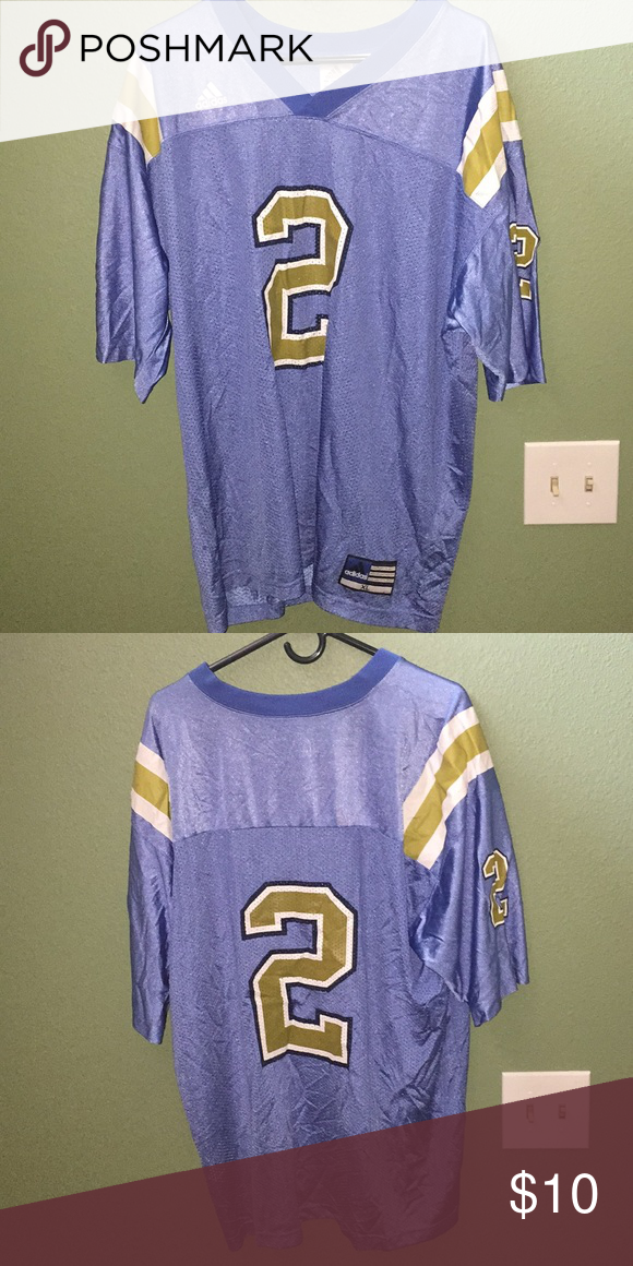 a225248fe93 UCLA football jersey 8/10 condition adidas Shirts Tees - Short Sleeve