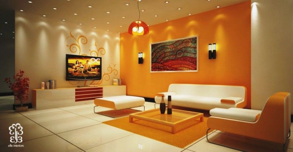 Indian Bedroom Color Combination Living Room Colour Ideas India Living Room Wall Color Room Wall Colors Living Room Orange